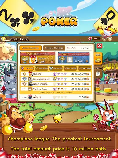 Dummy & Toon Poker Texas slot Online Card Game  Screenshots 16