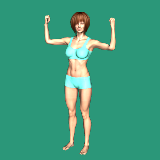 Upper body workout for women icon