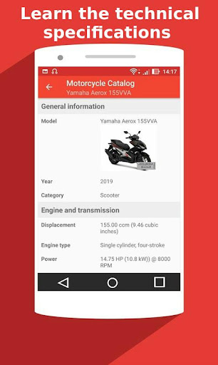 Motorcycle Catalog -  All Moto Information App 2.5 Screenshots 8