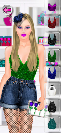 High Fashion Clique - Dress up & Makeup Game Girl 2.7 screenshots 8