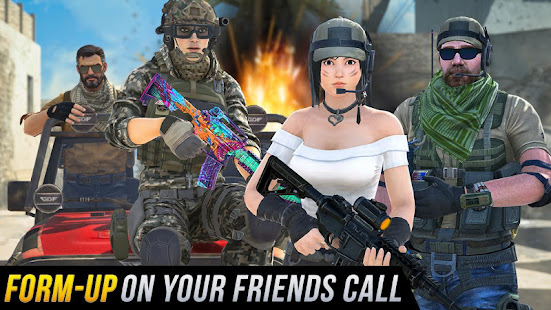 Real Commando Shooting 3D Games-Offline Games 2021 1.34 Screenshots 17
