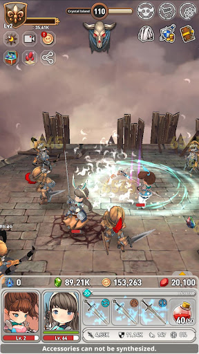 MY Little Fantasy: Healing RPG 1.19.45 screenshots 16