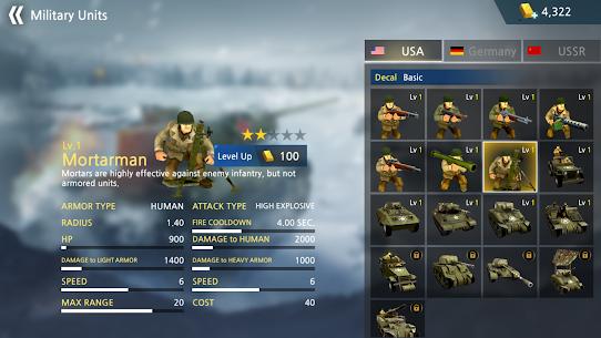 Baixar WW2 Battle Front Simulator MOD APK 1.6.3 – {Versão atualizada} 4