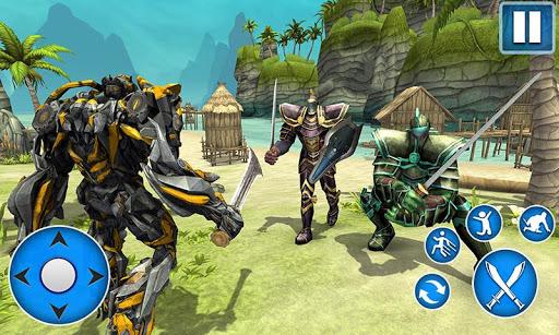 Télécharger Sword Robot Fighting Game: Sword Robot Hero mod apk screenshots 2