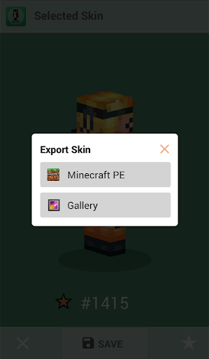 Skins for Minecraft PE 1.4 Screenshots 4