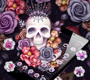 Colorful Flower Skull Fancy Theme 1.1.4 Mod APK (Unlimited) 2