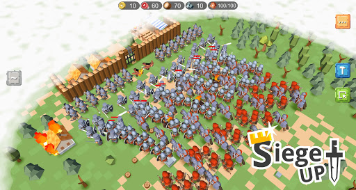 RTS Siege Up! - Medieval Warfare Strategy Offline screenshots 1