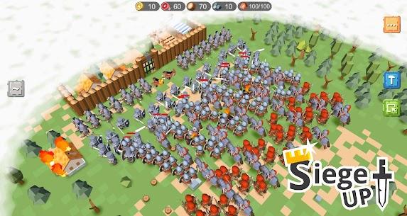 RTS Siege Up! MOD APK 1.1.74 (Free Shopping) 1