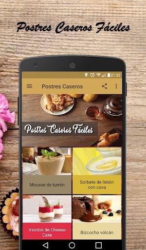 Postres Caseros Fáciles  screenshots 1