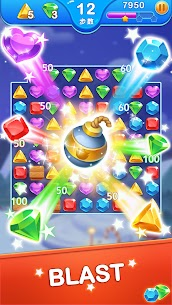 Jewel Blast Dragon – Match 3 Puzzle Mod 1.22.2 Apk (Unlimited money) 3
