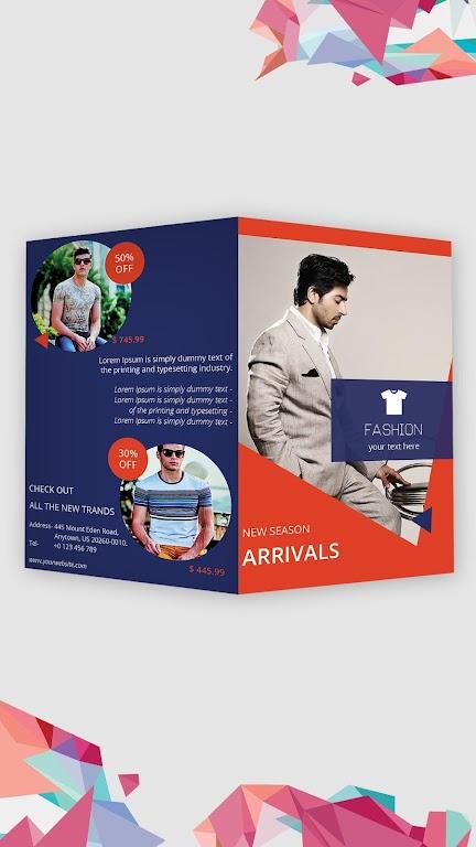 Brochure Maker - Pamphlets, Infographics, Catalog  poster 0