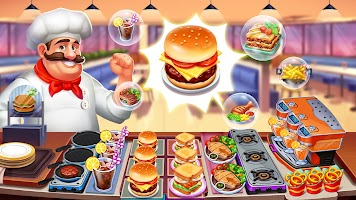 Crazy Chef: Food Truck Restaurant Cooking Game