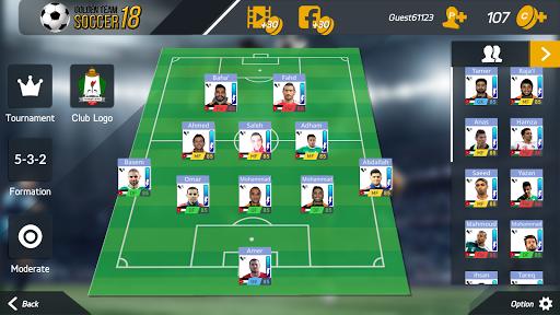 Golden Team Soccer 18 1.1 screenshots 5