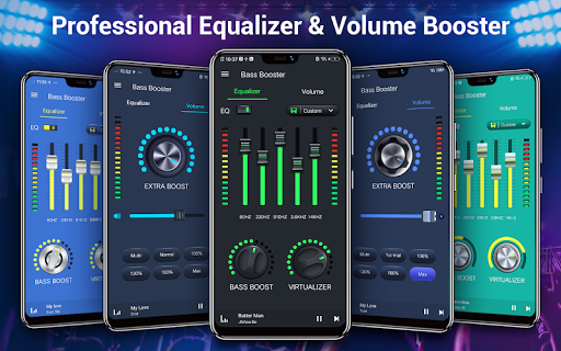 Equalizer -- Bass Booster & Volume EQ &Virtualizer 1.5.3 Screenshots 1