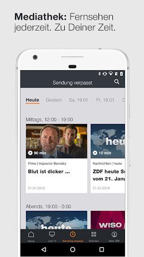 ZDFmediathek & Live TV  screenshots 3