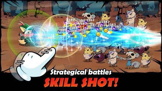Idle Hero Battle Mod Apk (Unlimited Gold/Gemstone/Skills) 3