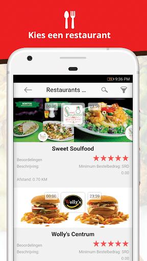 FoodDelivery.sr -Online eten bestellen in Suriname  Screenshots 2
