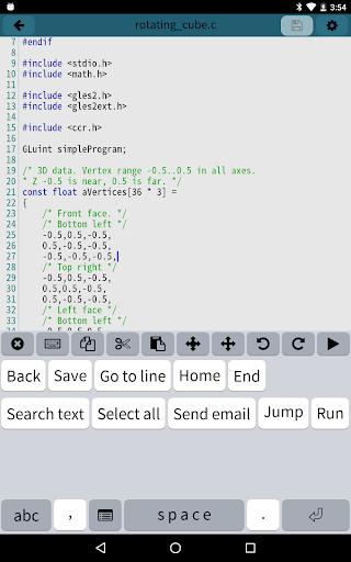 Mobile C [ C/C++ Compiler ] 2.5.2 Screenshots 9