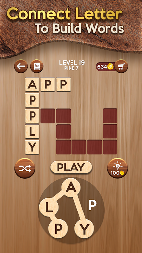 Woody Cross ® Word Connect Game Latest screenshots 1