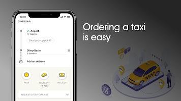 Omega: taxi service