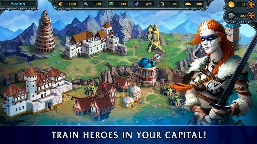Heroes of War Magicuff0dTurn Based RPG & Strategy game 1.5.2 screenshots 4