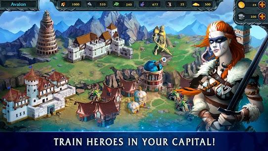 Heroes of War Magic-Turn Based RPG & Strategy game 4