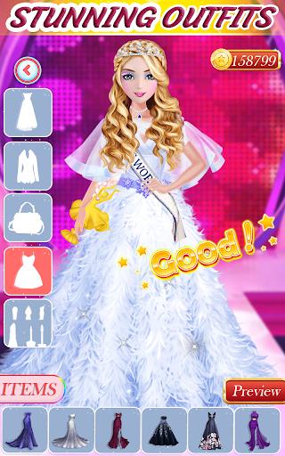 Super fashion model- Makeup & Dress up game  screenshots 6