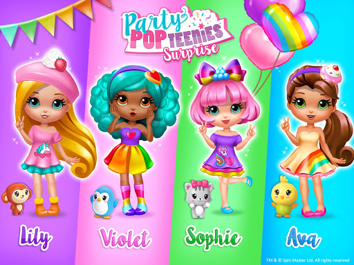Party Popteenies Surprise - Rainbow Pop Fiesta 3.0.30006 Screenshots 17