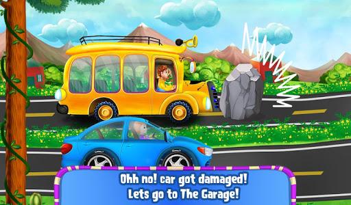 garage mechanic repair cars - vehicles kids game screenshot 2