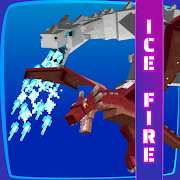 Ice and Fire Dragon Mod for Minecraft