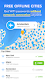 screenshot of Free WiFi Passwords & Internet Hotspots. WiFi Map®