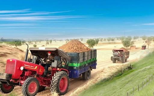 Tractor Trolley Simulator Free Cargo Game 2021