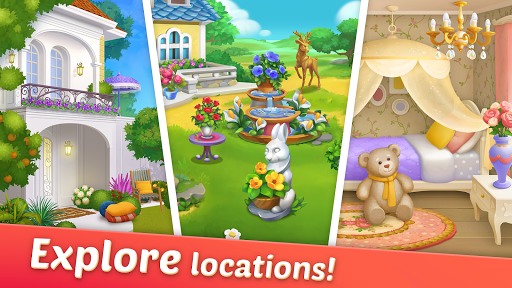 DesignVille: Home, Interior & Garden Design Game apktram screenshots 3