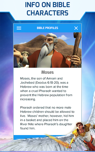 Superbook Kids Bible, Videos & Games (Free App) v1.9.3 Screenshots 6