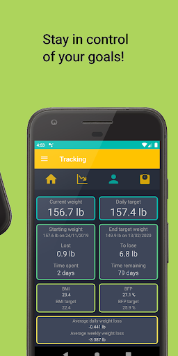 Foto do Weight Loss Tracker - BMI Assistant