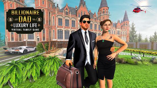 Billionaire Dad Luxury Life Virtual Family Games 1.1.5 screenshots 1