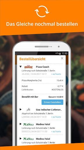 Lieferservice.de  screenshots 5