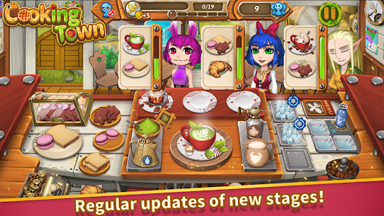 Cooking Town: Chef Restaurant Cooking Game Mod Apk 1.2.0 (Unlimited Diamonds) 5