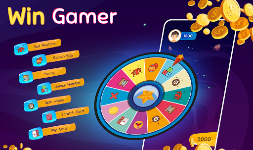 Win Gamer - Play Games & win game money for robux screenshots 1