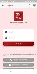 Flutter BuySell
