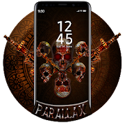 Skull APUS Live Wallpaper