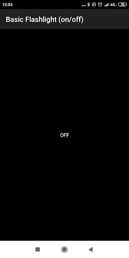 Simple Flashlight  screenshots 1