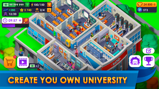 University Empire Tycoon - Idle Management Game apklade screenshots 2
