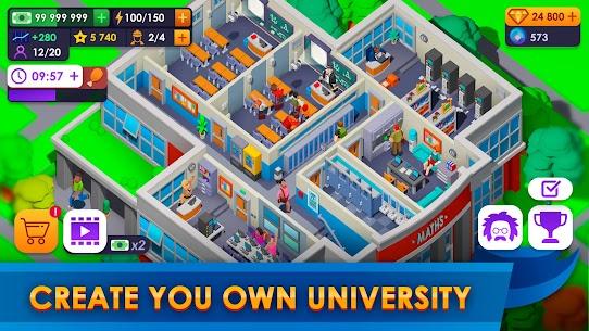 University Empire Tycoon – Idle Management Mod Apk (Unlimited Money) 2