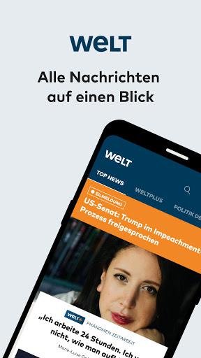 WELT News u2013 Nachrichten live  screenshots 1