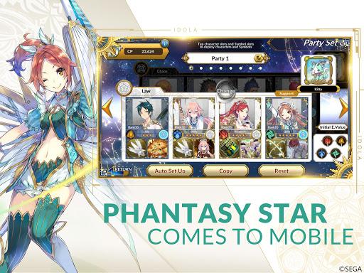 Idola Phantasy Star Saga 1.11.7 screenshots 8
