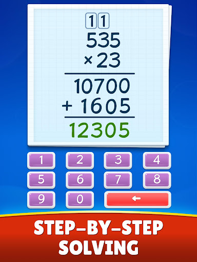 Math Games - Addition, Subtraction, Multiplication apkslow screenshots 13