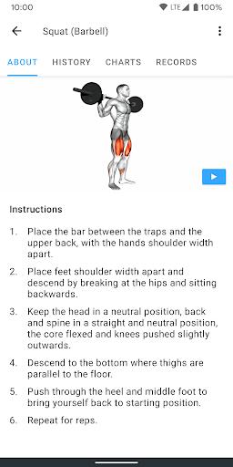 Strong - Workout Tracker Gym Log 2.5.9 Screenshots 4