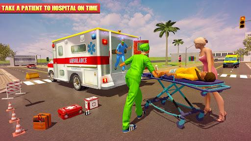 Emergency Superhero Rescue Mission-Ambulance Games APK MOD Download 1