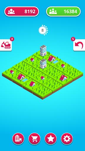 town merge: 2048 city builder screenshot 1